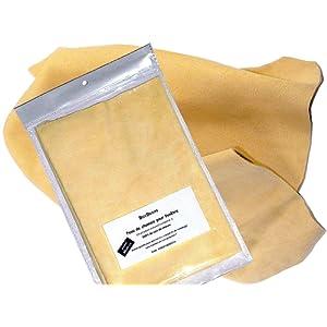 PEAU DE CHAMOIS - l'original en cuir véritable - d'environ 30x45 cm