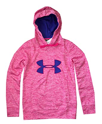 ae41ffc7a3e7 Under Armour Women UA Armour Fleece Big Logo Twist Hoodie (L