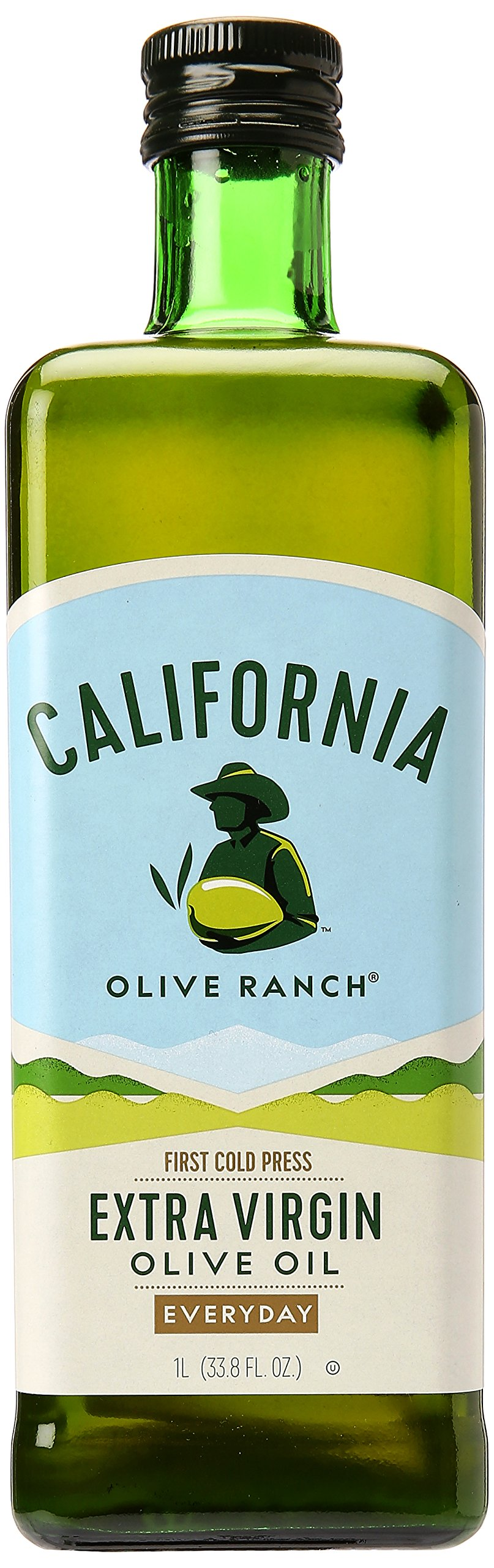 California Olive Ranch Everyday Extra Virgin Olive Oil, 33.81 Ounce