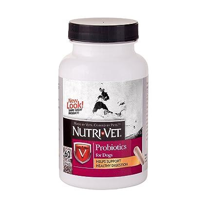 Nutri-Vet masticación Blanda probiótico para Perros, 60 ...