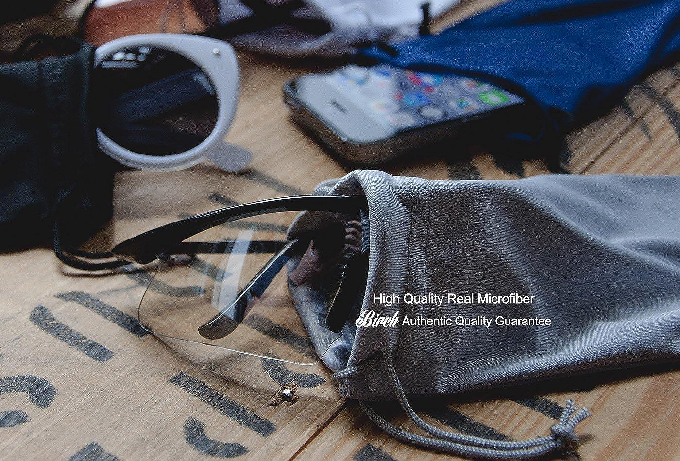 Amazon.com: 4 gafas de sol de microfibra de alta calidad con ...