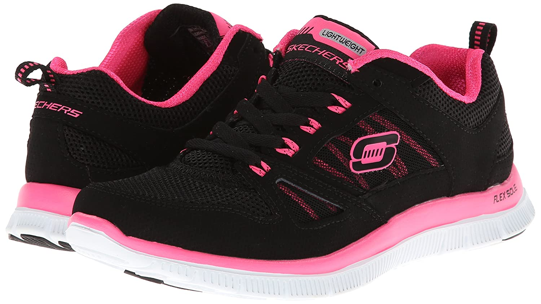 Skechers Flex Appeal Spring Fever, Chaussures de fitness femme