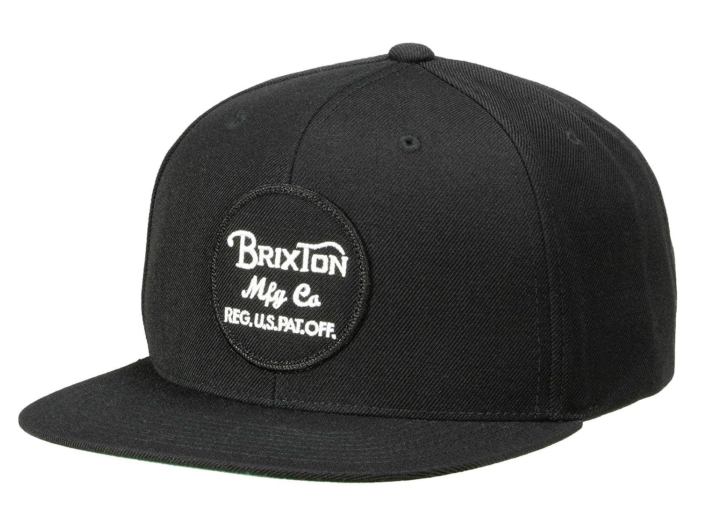Brixton - Gorra de béisbol Negro Talla única: Amazon.es: Ropa y ...