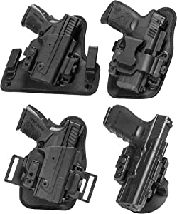 Alien Gear ShapeShift Core Carry Pack - 4 Different Holsters in 1 - IWB, Appendix, OWB Paddle, and OWB Belt Slide Included – Conceal or Open Carry - Starter Set for Anything in The ShapeShift System!