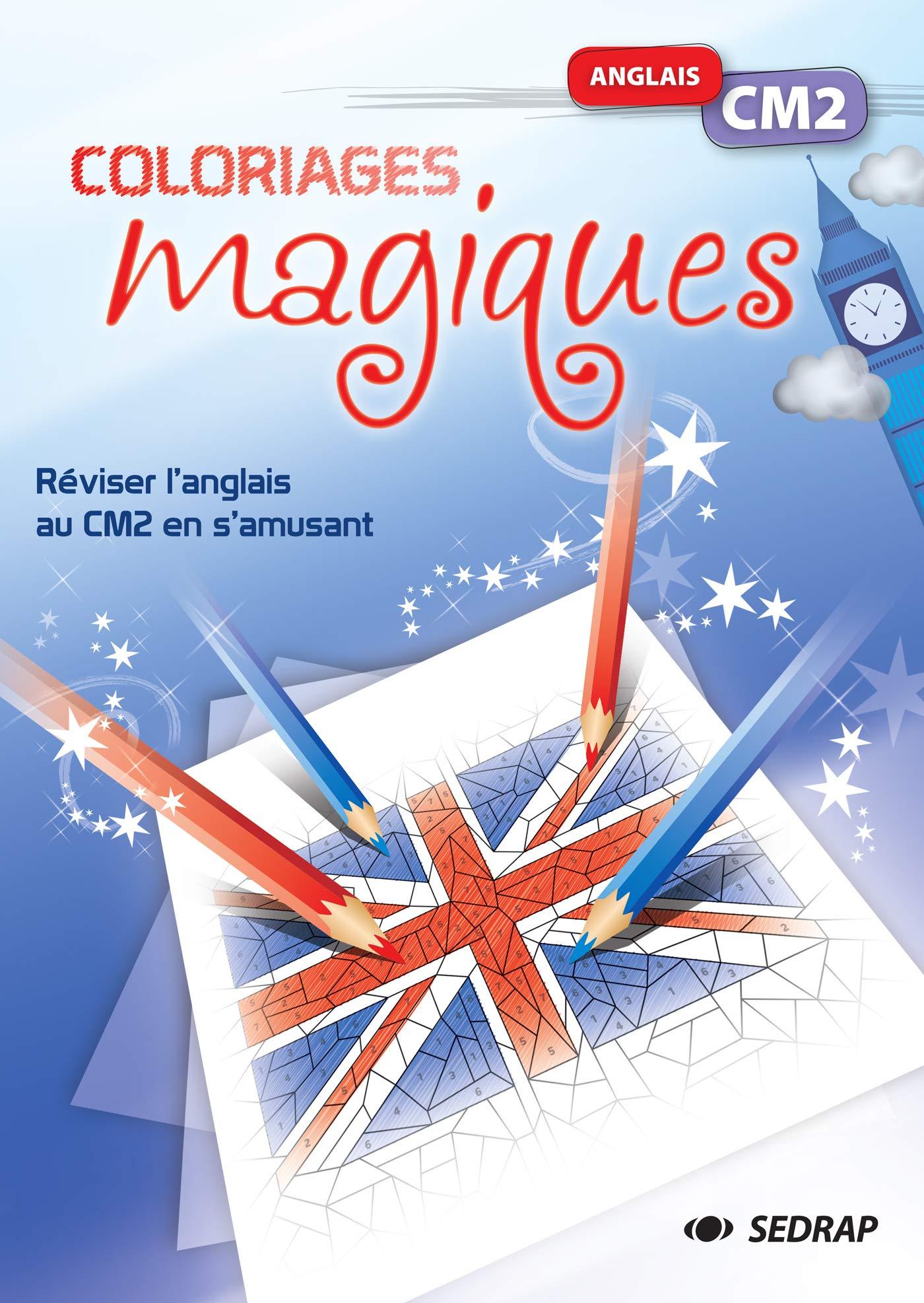 Amazon Fr Anglais Cm2 Coloriages Magiques Collectif Livres