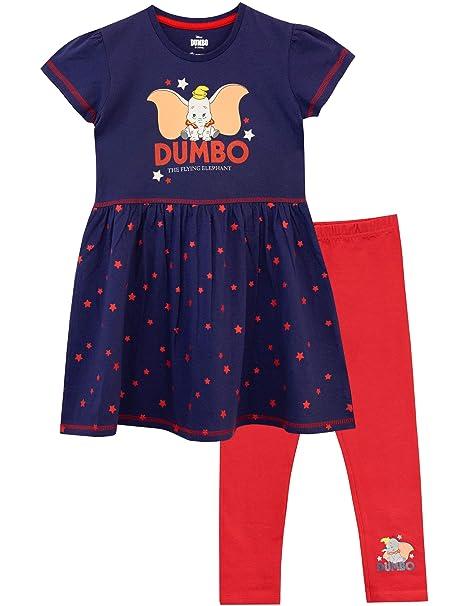 Leggings Niñas esRopa Vestido Y Para Accesorios Disney DumboAmazon kwPXilZuOT
