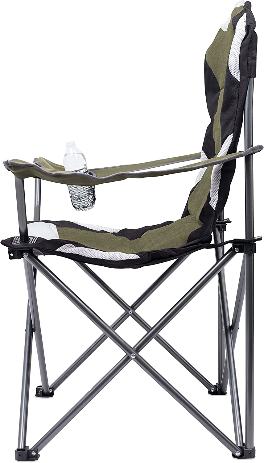 Outdoor Comfortable Sports Quad Carry Bag Cup Holder Beach Internets Best Padded Camping Folding Chair