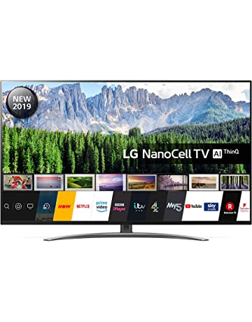 LG 49SM8600PLA 49 Inch UHD 4K HDR Smart NanoCell LED TV with Freeview Play - Dark Steel Silver (2019 Model) [Energy Class A]