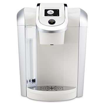 Amazon Keurig 20 K475 White Brewing System With Color Touch Display Kitchen Dining