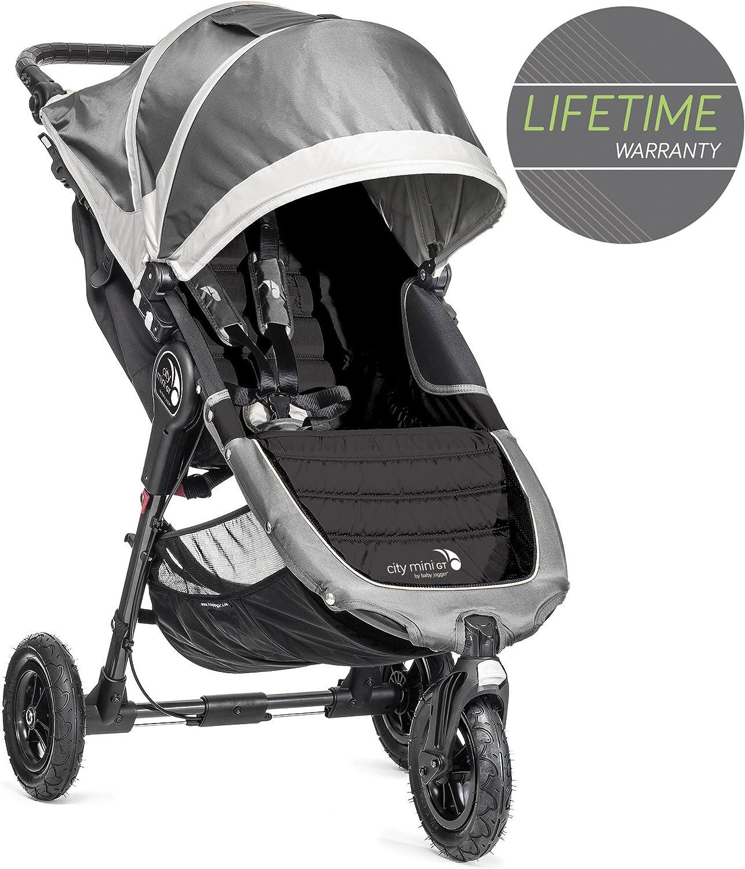 Silla de paseo desde nacimiento hasta 22kg Baby Jogger City Mini 2 de 3 Ruedas Sepia Color beige