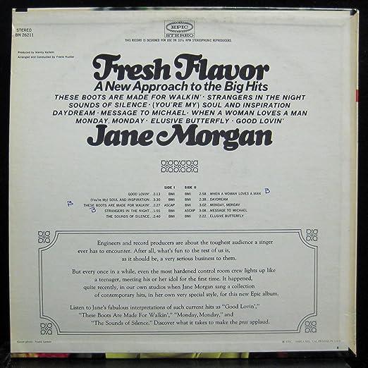 Jane Morgan - Fresh Flavor - Amazon com Music