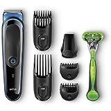 Braun MGK3040 Erkek Bakım Kiti, Gillette Body Tıraş Makinesi Dahil, 7'si 1 arada, Çok Renkli