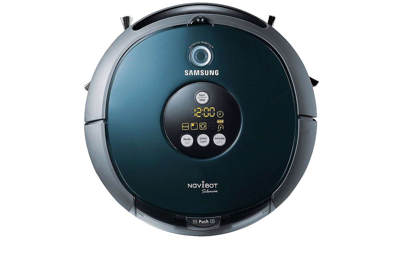Samsung Navibot Silencio - Robot aspirador, 60 dB, color azul