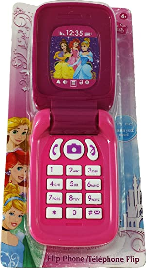 Disney Princesses Toy Flip Phone (Toy Cell Phone): Amazon.co