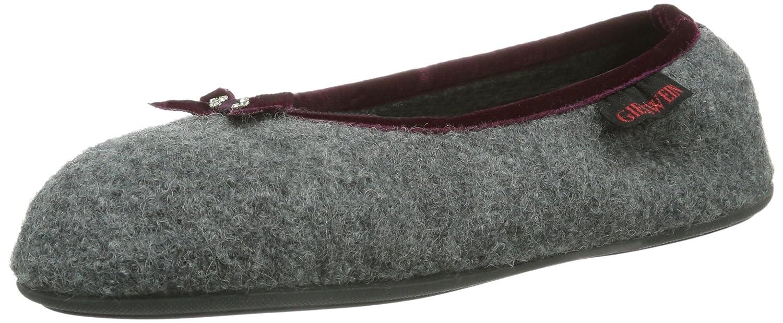 Giesswein Hohenau, Pantofole A Casa da DonnaGrigio (Ardesia 017)