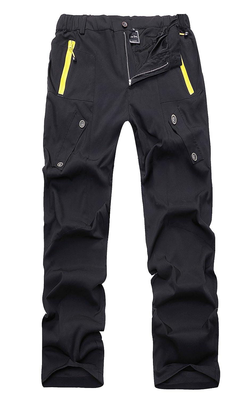 Fanhang Outdoor Relaxed Fit schnell trocknend leicht wasserdicht Wandern Bergsteigen Skifahren Angeln Hose für Herren Damen