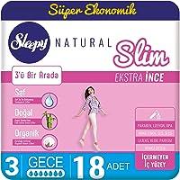 Sleepy Natural Slim Extra İnce Gece, 18 Adet