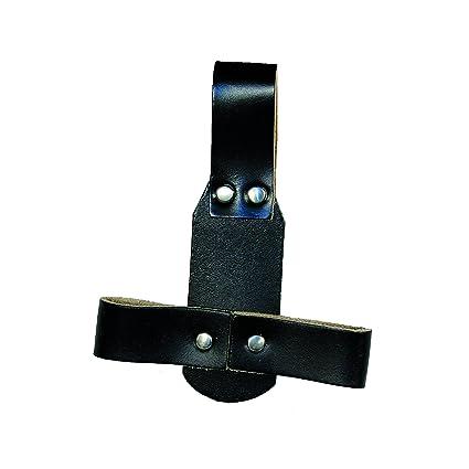 Porta-alicates de cuero con brida para cinturón