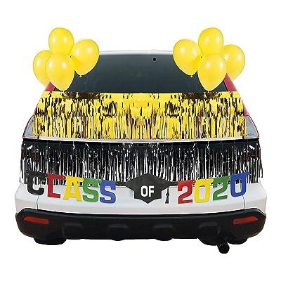 Yellow Graduation Car Parade Decorating Kit - Party Decor - 30 Pieces: Health & Personal Care