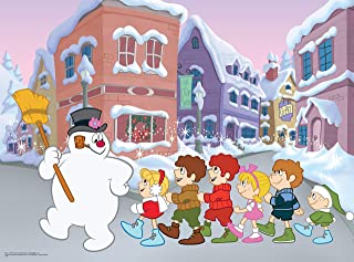 product image for Ceaco Frosty The Snowman - Follow Frosty Jigsaw Puzzle, 100 Pieces