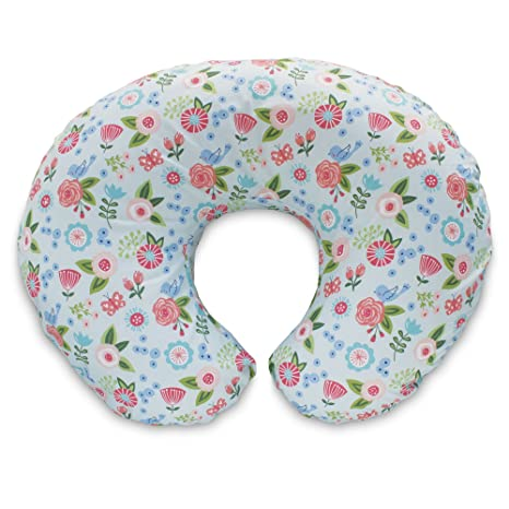 Boppy Original Pillow Cover, Fresh Flowers, Cotton Blend Fabric with allover fashion, Fits All Boppy Nursing Pillows and Positioners
