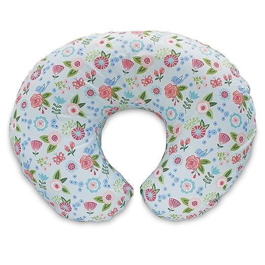 Review Boppy Pillow Slipcover, Blue