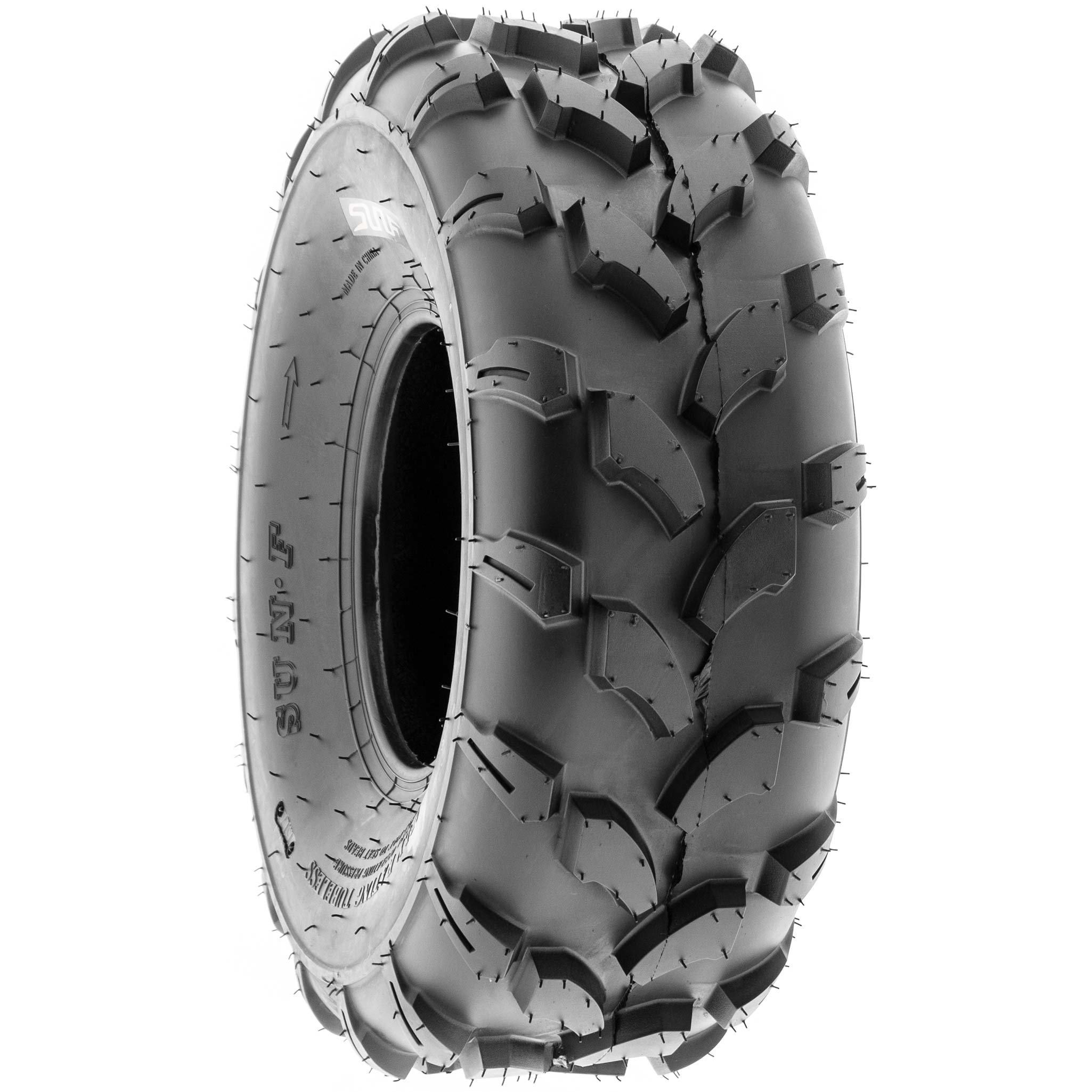 SunF 19x7-8 19x7x8 ATV UTV All Terrain Trail Replacement 6 PR Tubeless Tires A003, [Set of 2] by SUNF (Image #6)