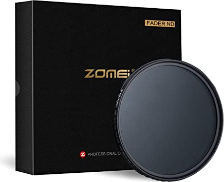 ZoMei 52mm Fader ND Neutral Density Adjustable Variable Filter ND2 to ND400