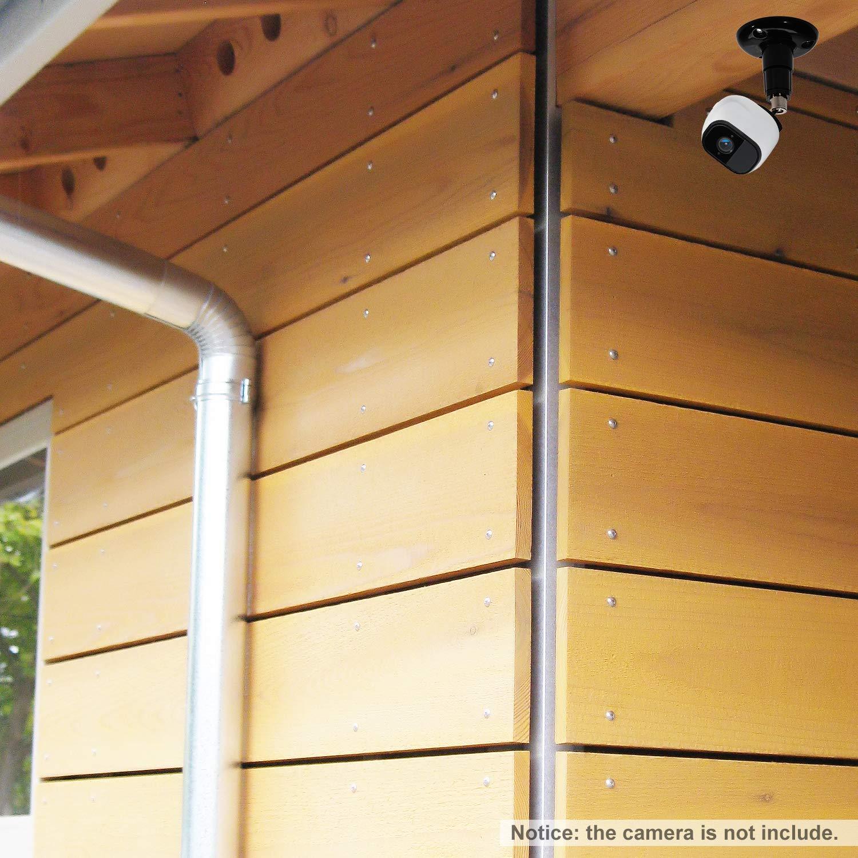 2 Piezas Soporte de Montaje en Techo Ajustable para Arlo OOTSR c/ámara de Seguridad Montaje de Pared Interior//Exterior Arlo Pro y Otros Modelos compatibles