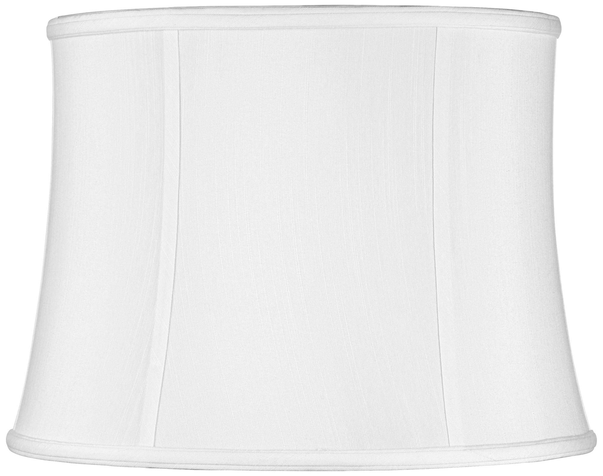Imperial Collection White Drum Lamp Shade 14x16x12 (Spider) - Imperial Shade