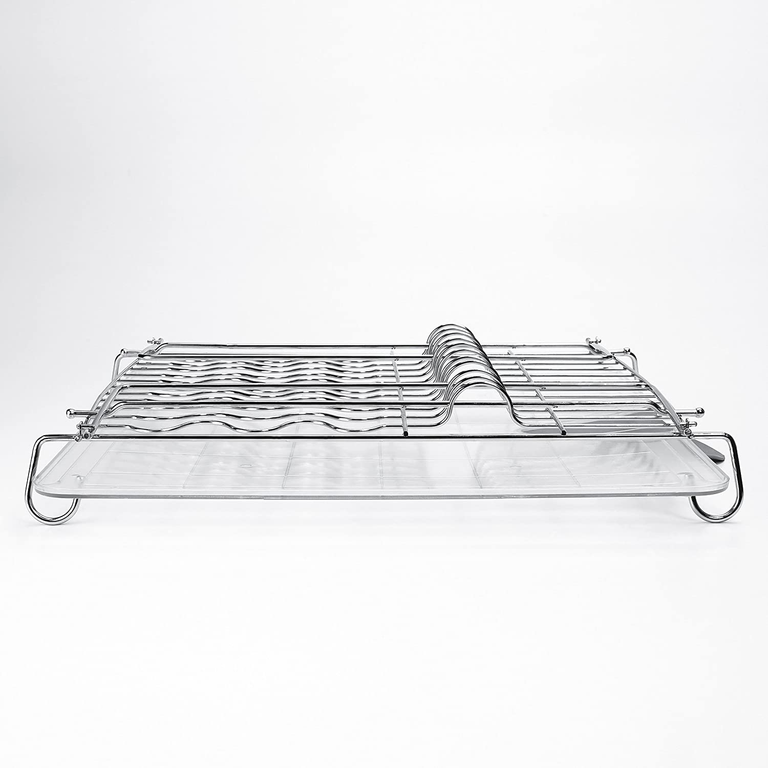 Com Oxo Good Grips Folding Stainless Steel Dish Rack Home Kitchen