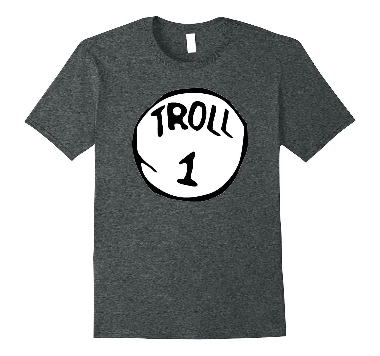 Troll 1 Trick or Treat Halloween Trolls Costume T-Shirt-Art