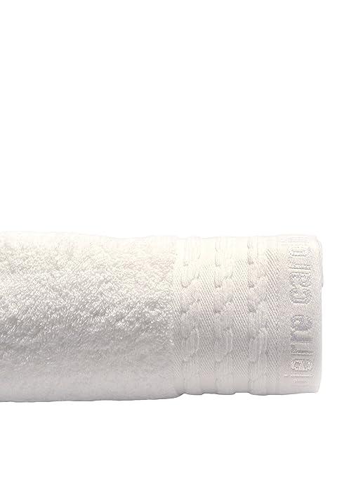 Pierre Cardin Toalla Vendome, Algodón Peinado, Blanco, 36x23x0.6 cm