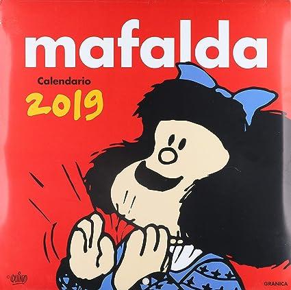 Granica Gb00116 - Mafalda 2019, Calendario de Pared: Amazon.es ...