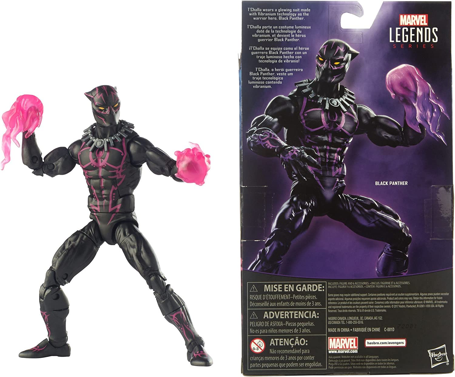 Marvel Legends 6-Inch Series Black Panther Exclusive Action Figure