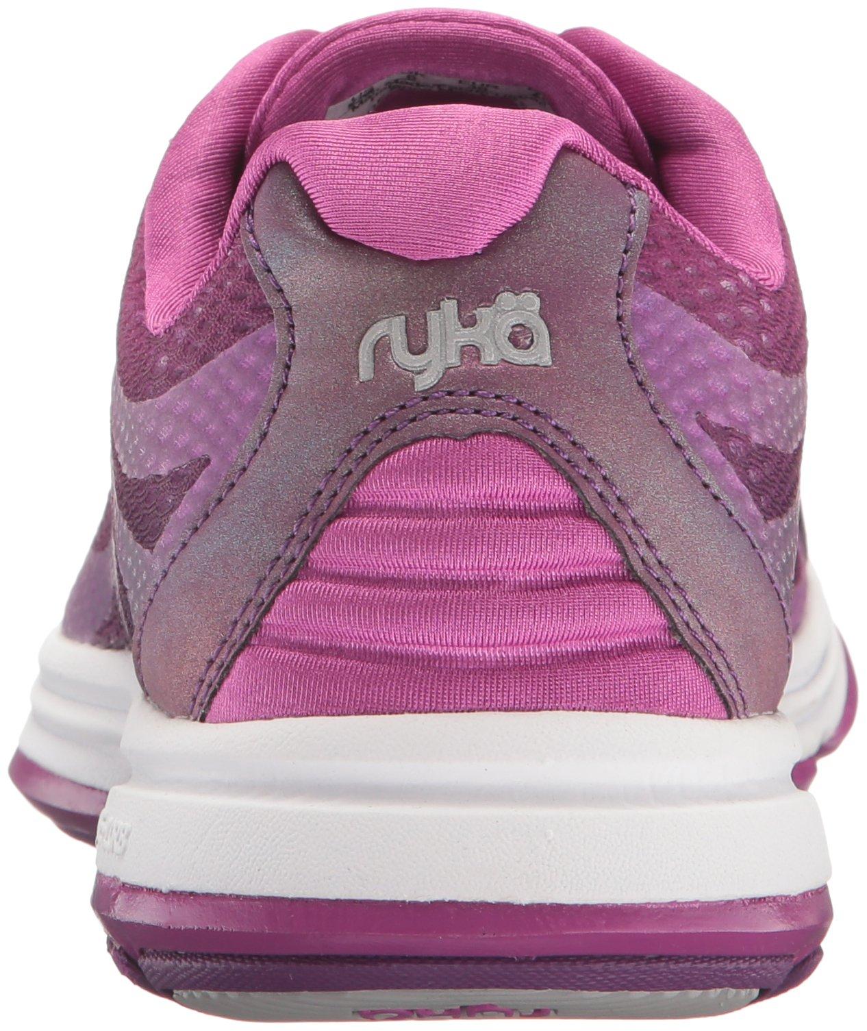 Ryka Women's Devotion Plus 2 Cross Trainer,Grape Juice/Vivid Berry/Chrome Silver by Ryka (Image #2)