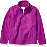 Amazon Essentials Quarter-Zip Polar Fleece Jacket Niñas