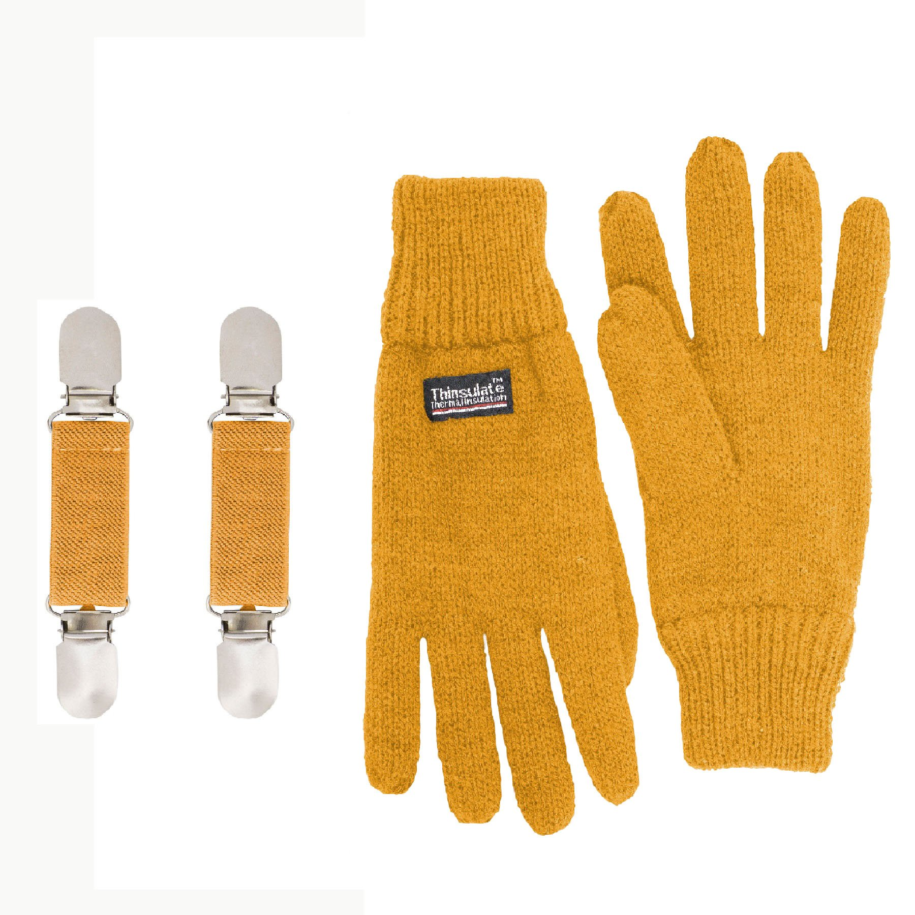 Sanremo Fashions Boys Knitted Fleece Lined Mittens