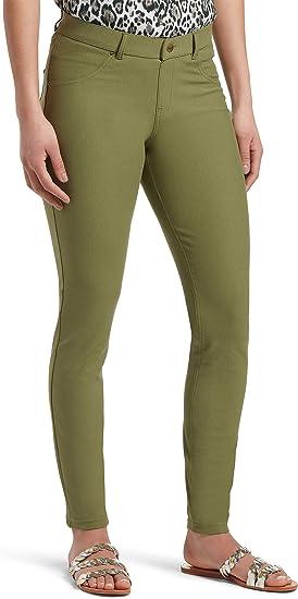 Shadow Olive plus size 2X HUE Women/'s Original Denim Leggings