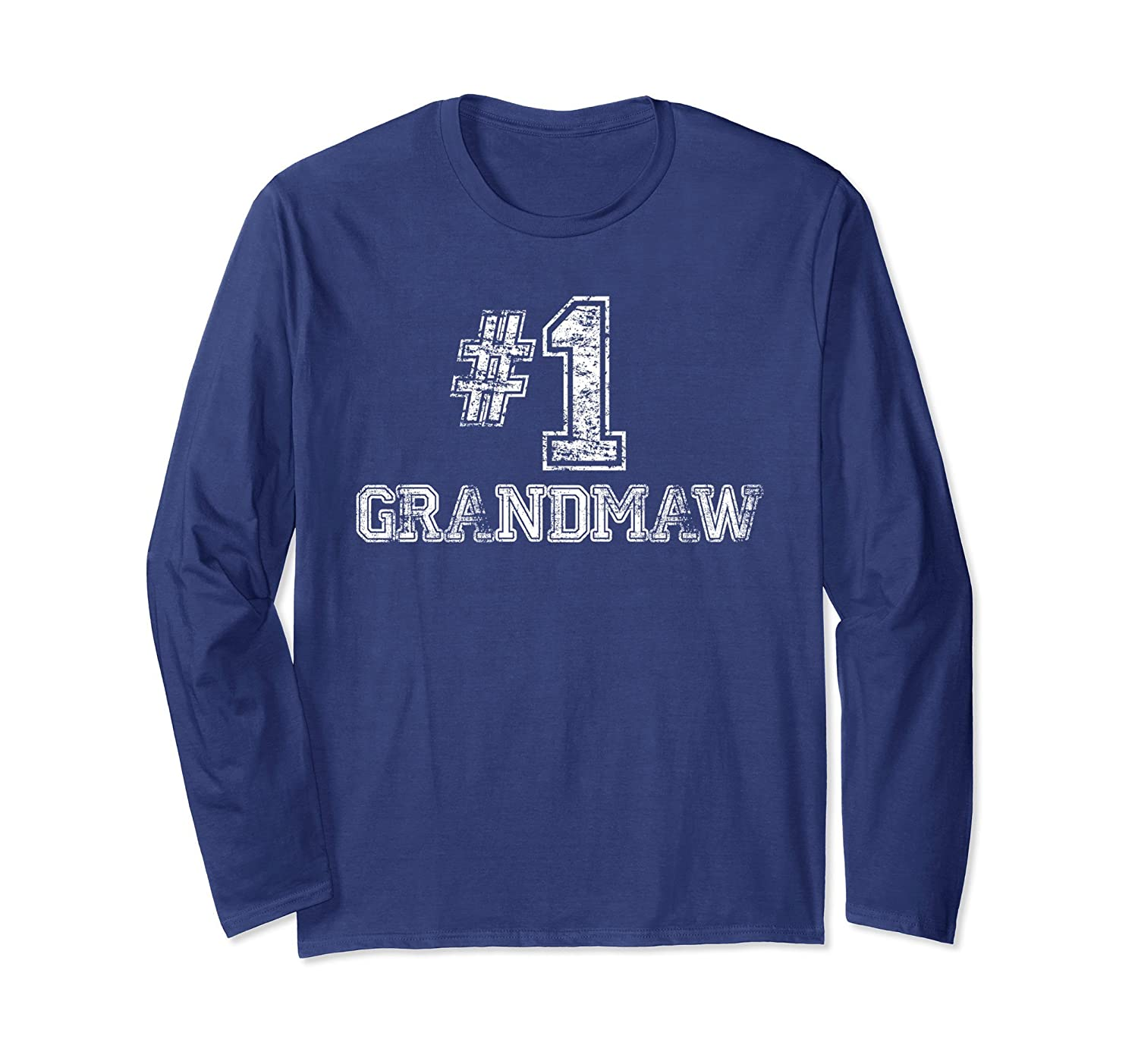 #1 GrandMaw T Shirt - Number One Sports Jersey Gift Tee-TH