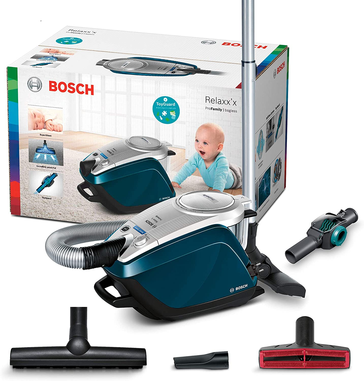 Bosch Hausgeräte Relaxxx ProFamily Aspiradora sin Bolsa, 700 W ...
