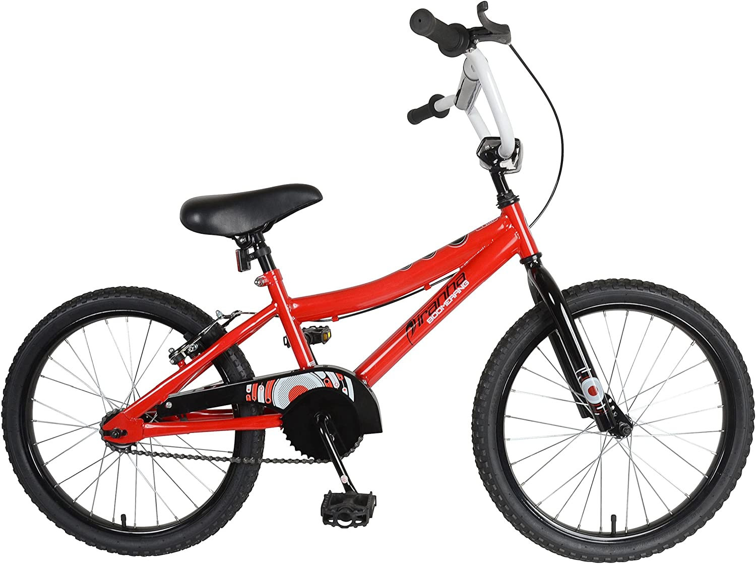 Piranha Boomerang 20 Kids Bicycle, Red by Piranha: Amazon.es ...