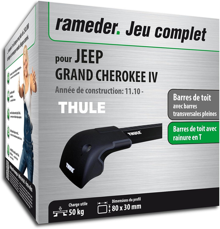 Pack Rameder barres de toit WingBar Edge pour JEEP GRAND CHEROKEE IV (119796-09072-1-FR)