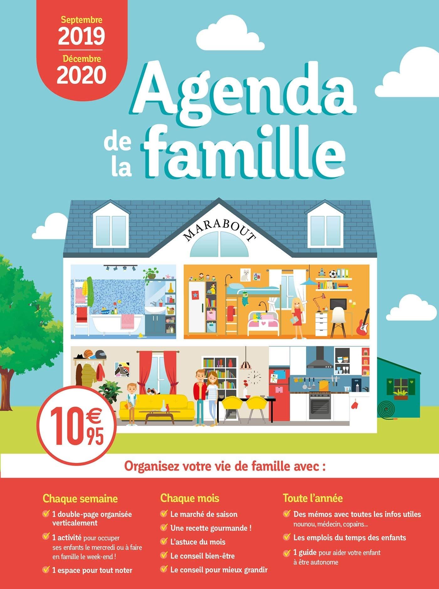 Mini Agenda de la famille 2019-2020 Organisation Familiale ...