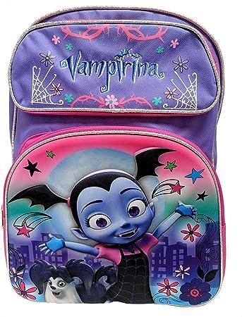 "Vampirina Backpack Set For Girls 8 Pc Deluxe 16/"" W Lunch Bag /& More BACKPACK"
