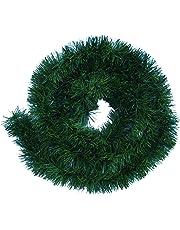 Guirnalda de hierba verde para decoración, aprox. 5m