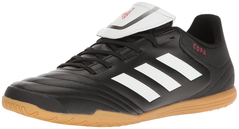 ba4b10b15589 Amazon.com | adidas Men's Copa 17.4 Indoor Soccer Shoe Core Running  White/Black, ((6.5 M US) | Soccer