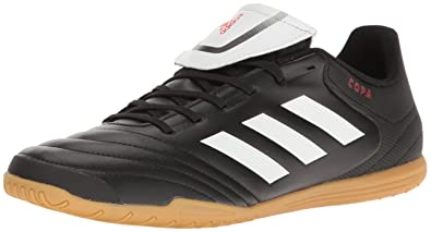 adidas Men s Copa 17.4 Indoor Soccer Shoe Core Running White Black 0fab00e309