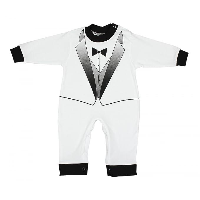 TupTam - Pelele - para bebé niño blanco/negro 68 cm: Amazon.es: Ropa y accesorios