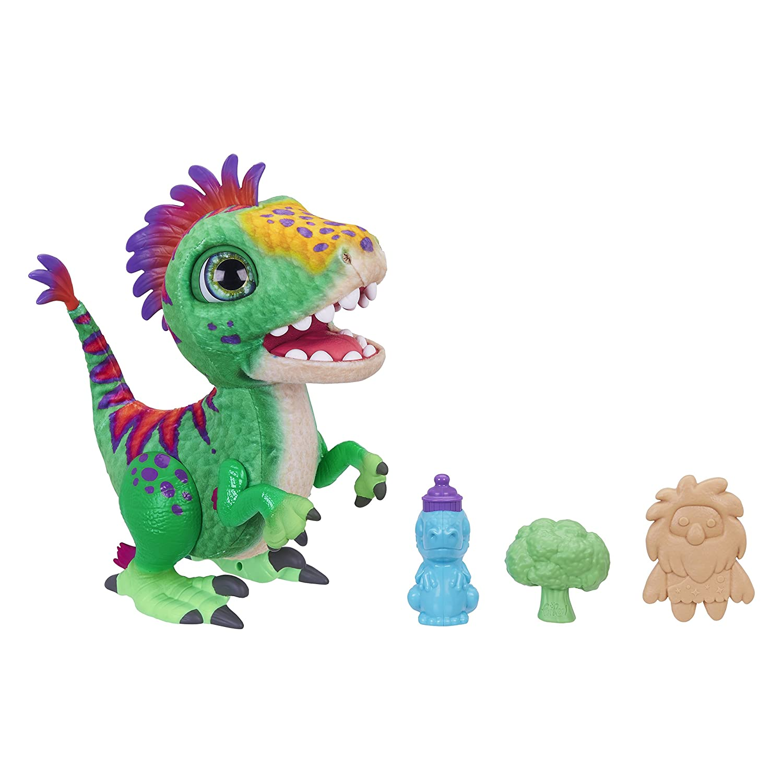 Furreal Friends - Régalorex, Le Dinosaure Gourmand - Peluche Interactive, E0387 Hasbro E0387EU4